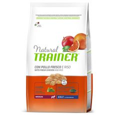 Trainer Natural Adult Medium, Huhn und Reis  12kg