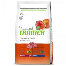 Trainer Natural Adult Medium, Rind und Reis 12kg