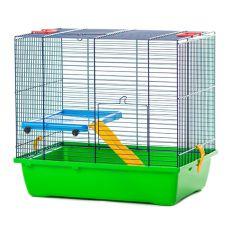 Käfig für Hamster TEDDY LUX I color - 430 x 280 x 385 mm