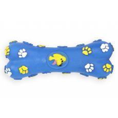 Hundespielzeug - Knochen aus Vinyl, blau 15cm