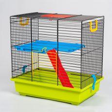 Käfig für Hamster TEDDY I mit Zubehör aus Kunststoff