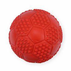 Gummispielzeug für Hunde - quietschender Ball, 7cm
