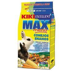 KIKI EXCELLENT MAX MENU - Futter für Zwergkaninchen 1kg