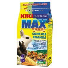 KIKI EXCELLENT MAX MENU - Futter für Zwergkaninchen 2kg