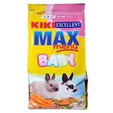 KIKI EXCELLENT MAX MENU BABY - Futter für junge Kaninchen, 1 kg