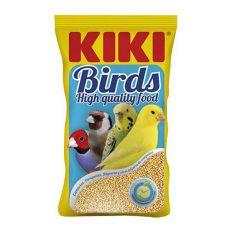 KIKI Kanariengras - Futter für Kanarienvögel 500g