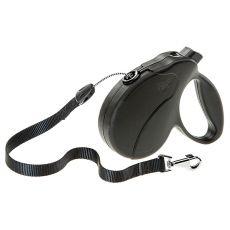 Führleine Amigo Easy Medium bis 25kg - 5m Seil, schwarz