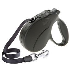 Führleine Amigo Easy Mini bis 12kg - 3m Gurt, schwarz