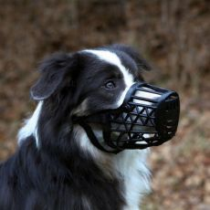 Maulkorb für Hunde, Kunststoff - Größe L/XL, 35 cm