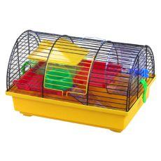 Käfig für Hamster - GRIM I mit Zubehör aus Kunststoff