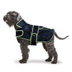 Weste mit Kragen für Hunde, schwarz - 35cm