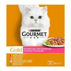 Konserve Gourmet GOLD - gedünstete und gegrillte Stücke, 8 x 85 g