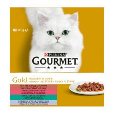 Konserve GOURMET GOLD - Stückchen in Soße, 8 x 85g