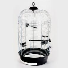 Käfig für Papagei JULIA III chrom - 34 x 34 x 65 cm