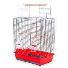 Käfig für Papagei ARA chrom - 54 x 34 x 68,5 cm