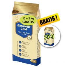 EMINENT GOLD Adult Large Breed 15kg + 2kg + 2kg GRATIS
