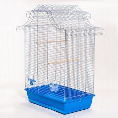 Käfig für Papagei AMADINA chrom - 61,5 x 41,5 x 85,5 cm