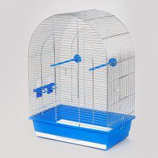 Käfig für Papagei LUSI II chrom - 45 x 28 x 63 cm