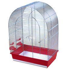 Käfig für Papagei LUSI III chrom - 54 x 34 x 75 cm