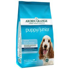 ARDEN GRANGE Puppy / Junior rich in fresh chicken 12 kg