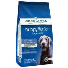 ARDEN GRANGE Puppy / Junior Large Breed with fresh chicken and rice 12 kg