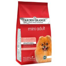 ARDEN GRANGE Adult Mini with fresh chicken & rice, 6 kg