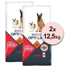Versele Laga Opti Life Adult Digestion Medium & Maxi 2 x 12,5kg