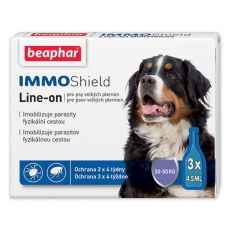 "BEAPHAR IMMO SHIELD Line-on Hund ""L"" 3 x 4,5 ml"