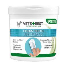 Reinigungstücher für Hundezähne VET´S BEST, 50 Stck