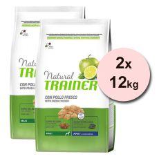 Trainer Natural Adult Maxi, Huhn 2 x 12 kg