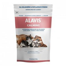 ALAVIS CALMING für Hunde und Katzen, 30 Tabletten