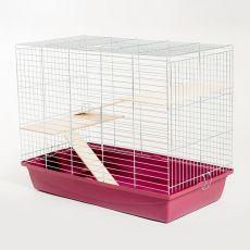 Käfig für Frettchen - FERRET 100 chrom