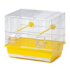 Käfig für Kanarienvögel KANAREK ZINC LUX 38 x 24 x 34 cm