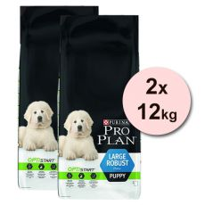 Purina PRO PLAN PUPPY Large Robust - 2 x 12kg