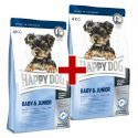 Happy Dog Mini Baby & Junior 4 kg + 4 kg GRATIS