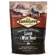Brit CARNILOVE Lamb & Wild Boar Adult 1,5 kg