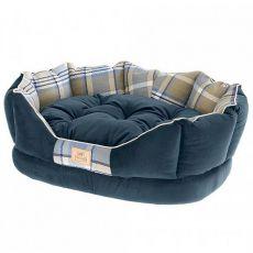 Hundebett CHARLES blau 45 x 35 x 17 cm