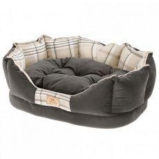 Hundebett CHARLES dunkelgrau 45 x 35 x 17 cm