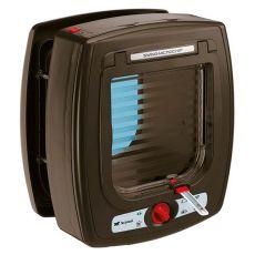 Katzenklappe Swing Microchip braun 22,5 x 16,2 x 25,2 cm