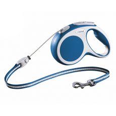 Flexi Vario S Seil-Leine bis 12 kg, 5 m Seil - blau