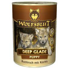 Nassfutter WOLFSBLUT Deep Glade PUPPY, 395 g