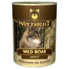 Nassfutter WOLFSBLUT Wild Boar, 395 g