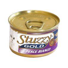 Nassfutter STUZZY Gold - Weißfisch, 85g