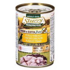 Feuchtnahrung STUZZY Dog Monoprotein - Huhn, 400g