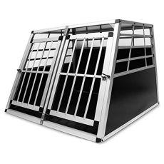 Aluminium Transportbox für Hunde - 104 x 91 x 69,5 cm