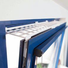 Schutzgitter für Fenster, oben/unten 75 - 125 cm x 16 cm