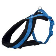 Hundegeschirr PREMIUM blau XS - S, 30 - 40 cm