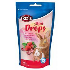Snack für Nager - Erdbeeren Drops, 75 g