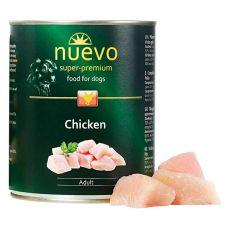 Nassfutter NUEVO DOG Adult Chicken 800 g