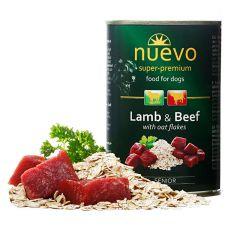 Feuchtnahrung NUEVO DOG Senior Lamb & Beef 400 g